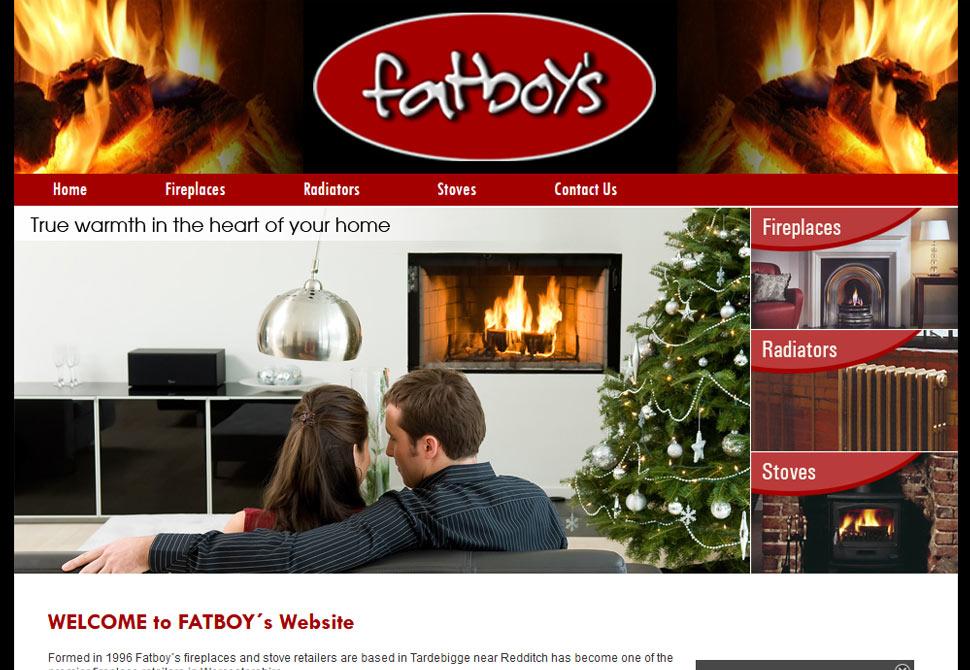 fatboys website portfolio
