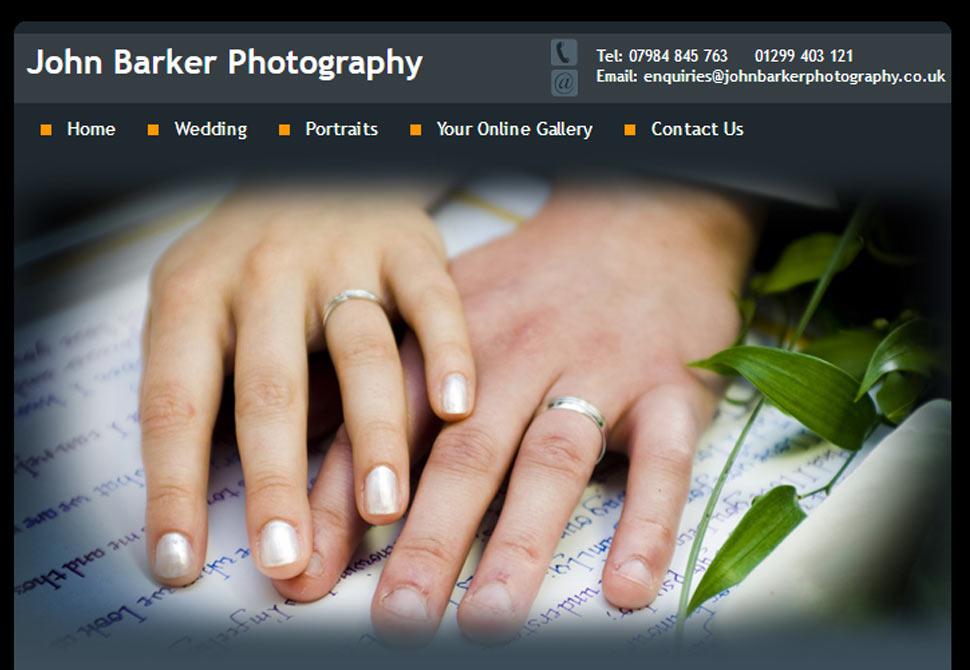 john barker photography website portfolio
